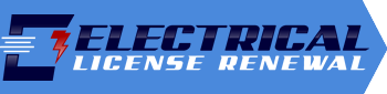 Electrical License Renewal Logo