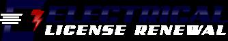 Electrical License Renewal Logo