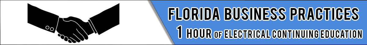 florida electrical license renewal  hour package florida electrical continuing education package