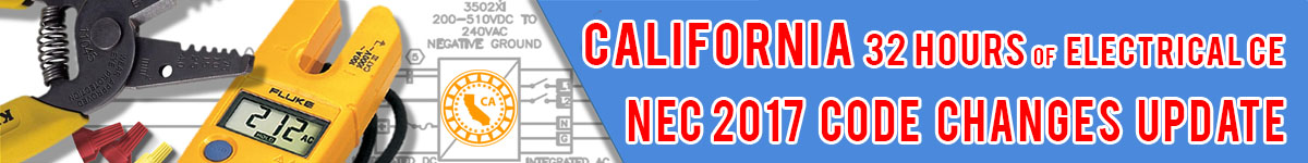 nec 2017 code changes update - 32 hours california electrical ...