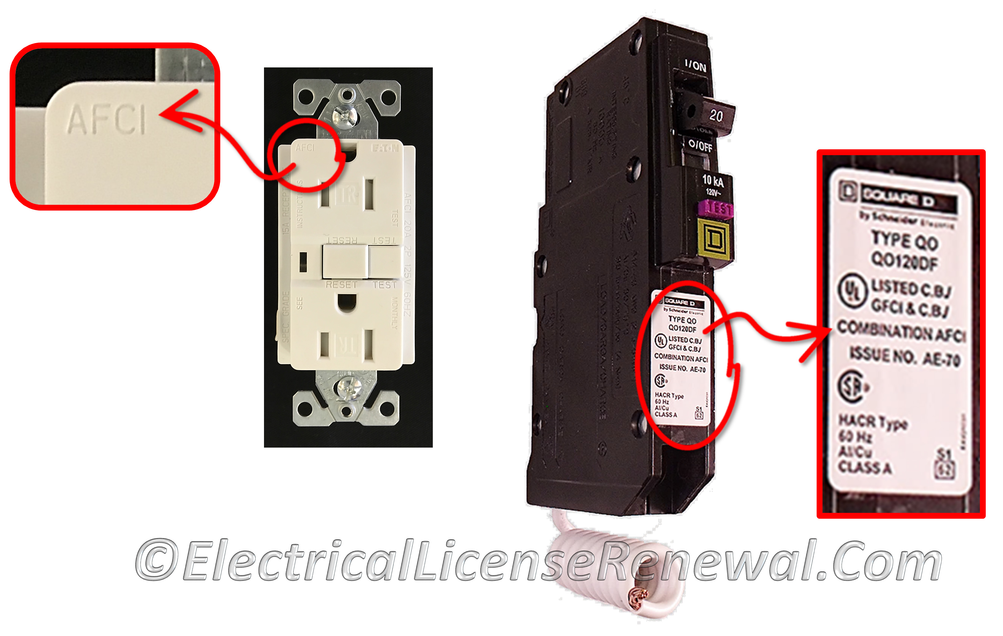 21012 Arc Fault Circuit Interrupter Protection How To Hook Up A Gfi Outlet
