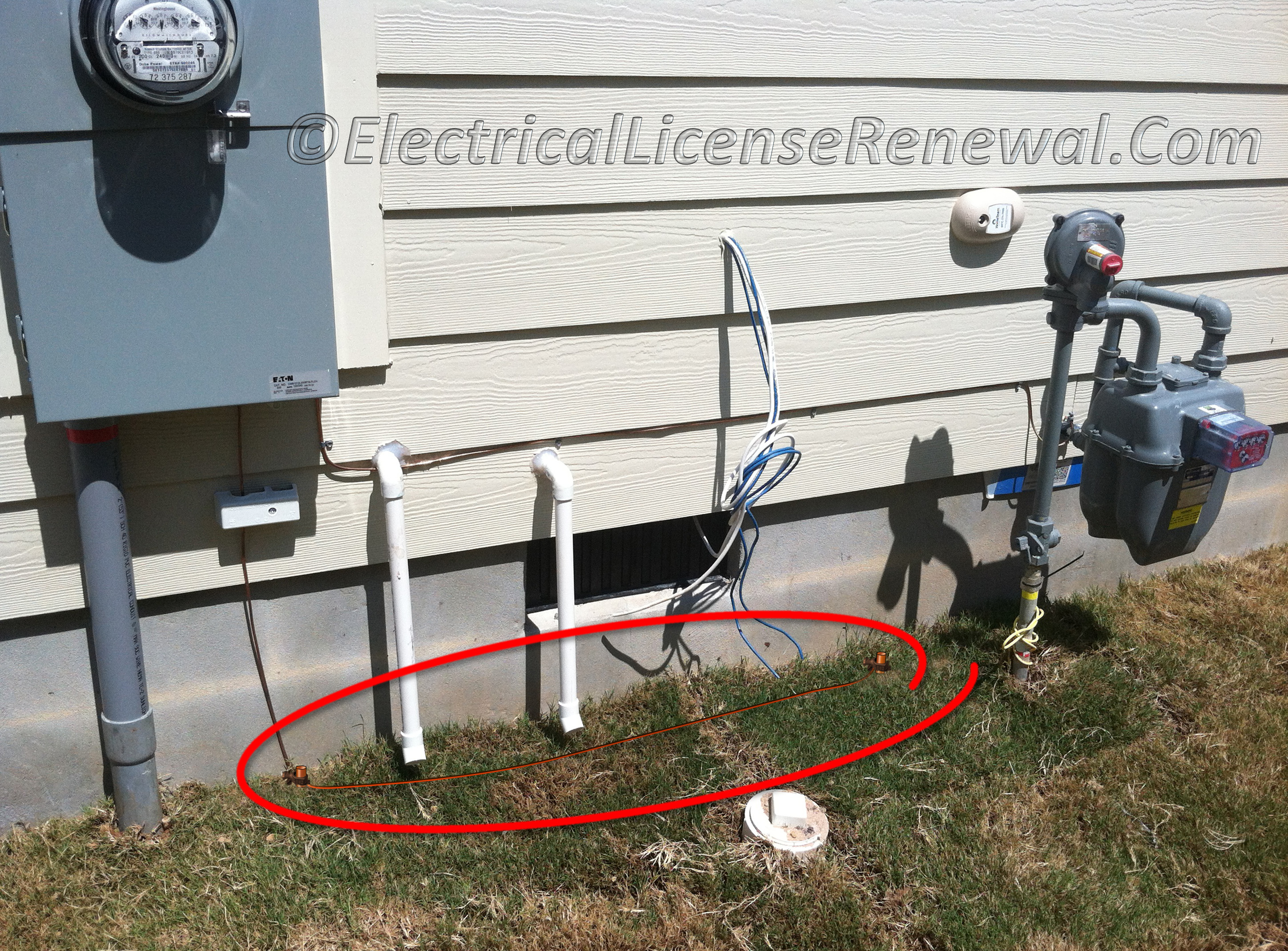250.64(B) Grounding Electrode Conductor Installation. Securing and ...
