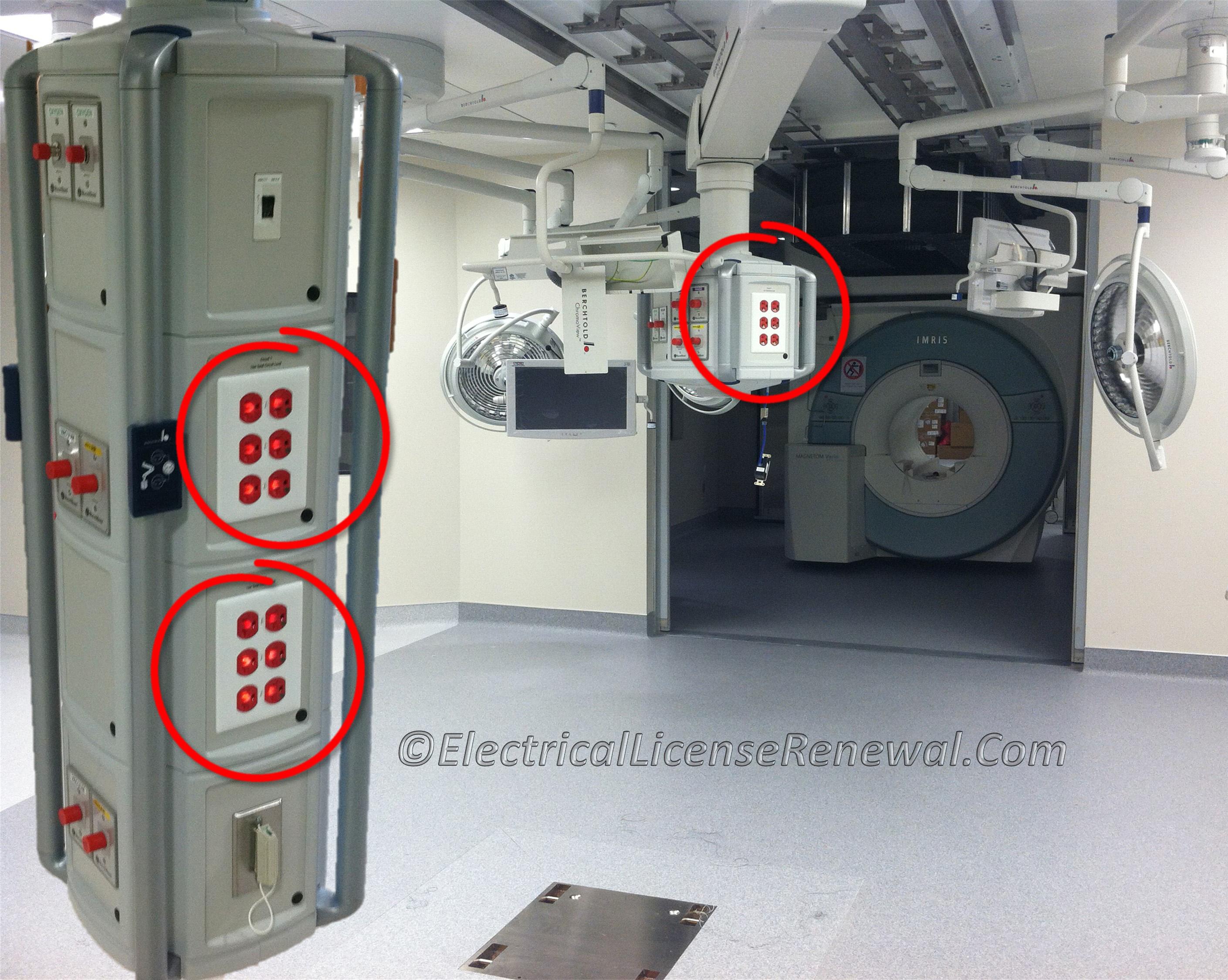 517.19(C) Operating Room Receptacles.