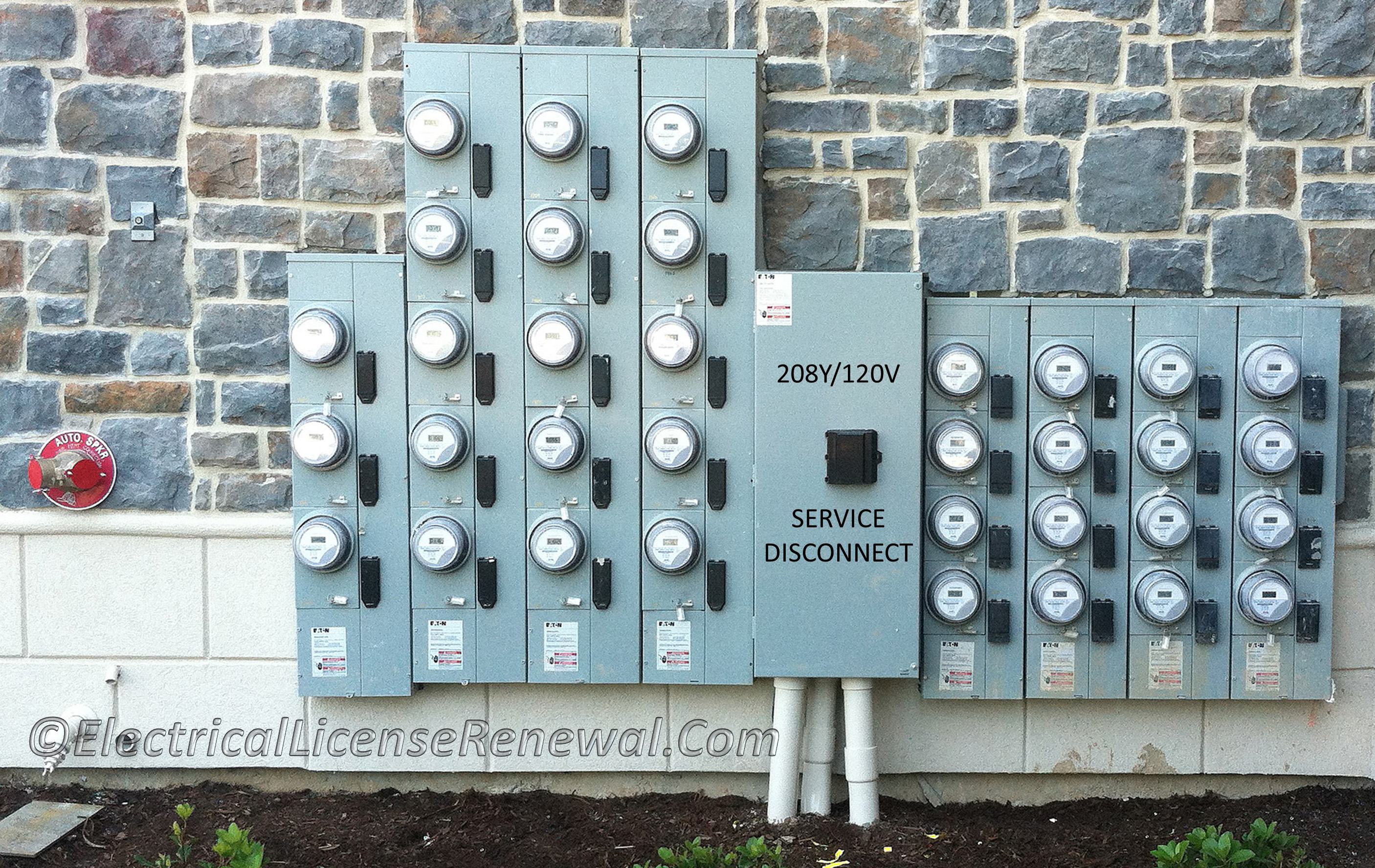 Nec Single Phase Meter Wiring Diagram Trusted Schematics Disconnect 310 15b7 Dwelling Services And Feeders Residential Electrical