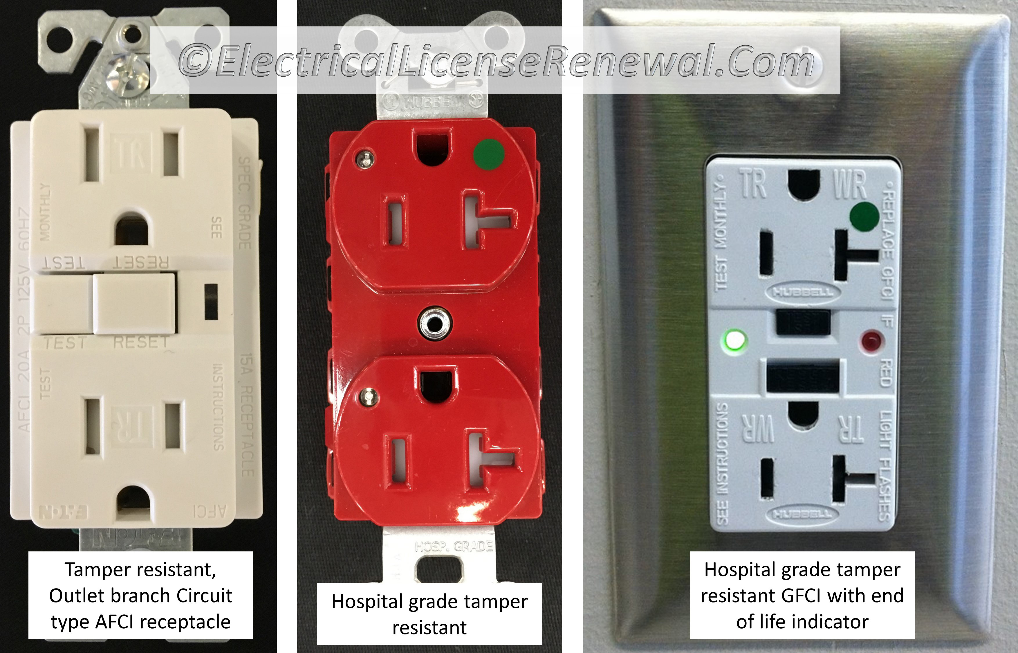 40612 Tamper Resistant Receptacles Electrical Wiring In The Home No Power To Bathroom Gfci