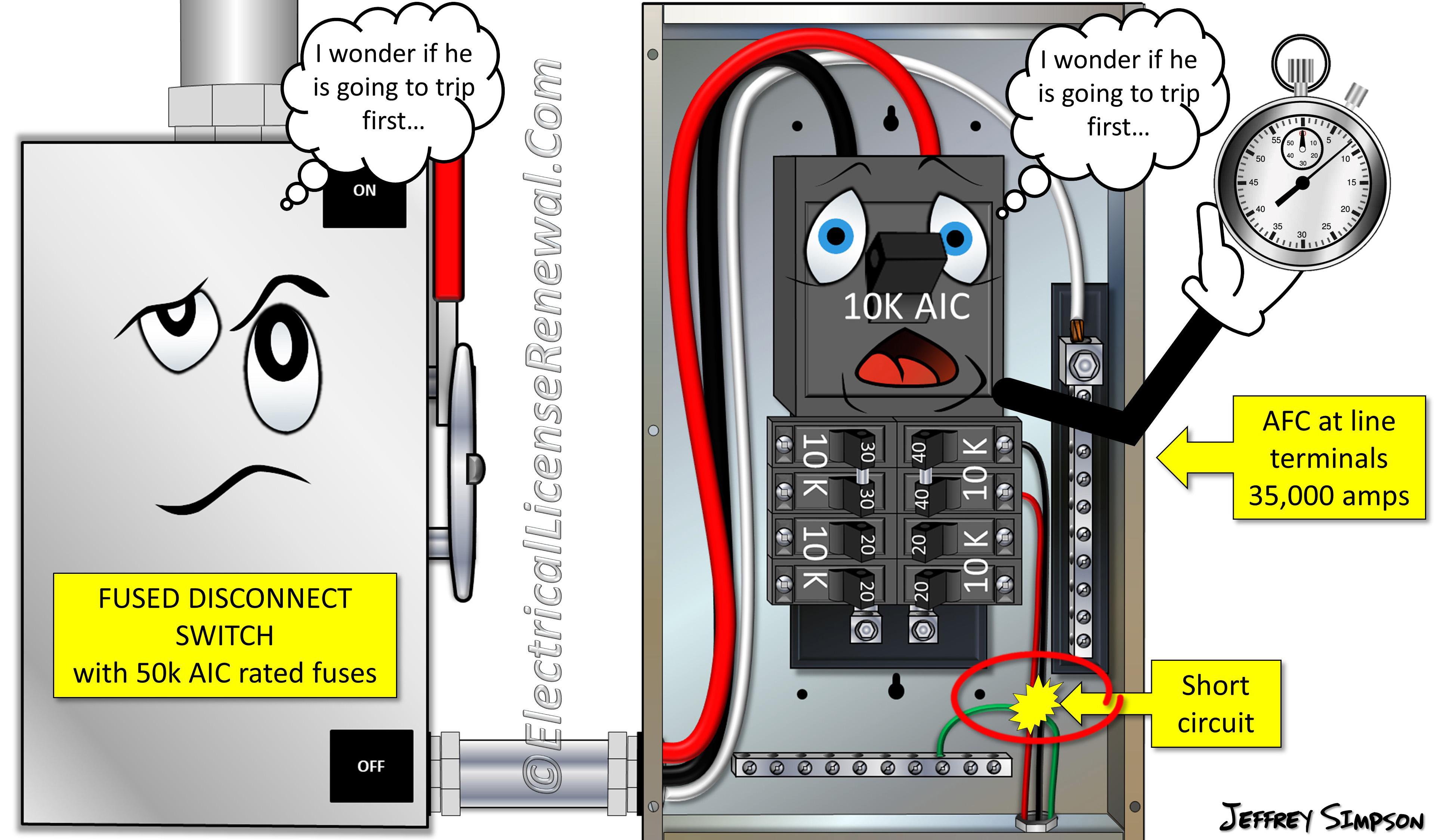 Fuses Protecting Circuit Breakers